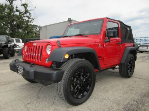 2015 Jeep Wrangler for sale at Quality Investments in Tyler TX
