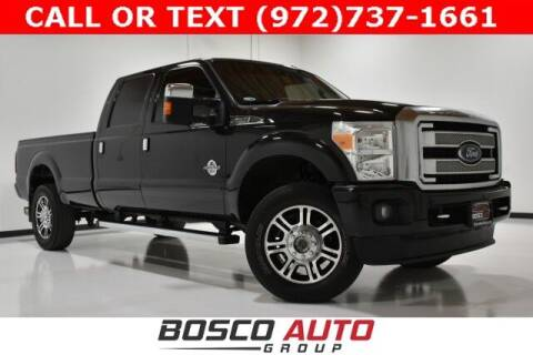 2015 Ford F-350 Super Duty for sale at Bosco Auto Group in Flower Mound TX