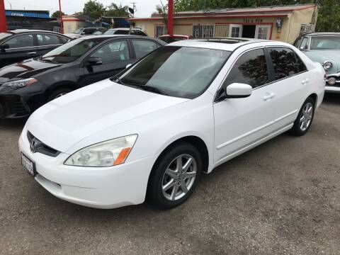 2003 Honda Accord for sale at Auto Emporium in Wilmington CA