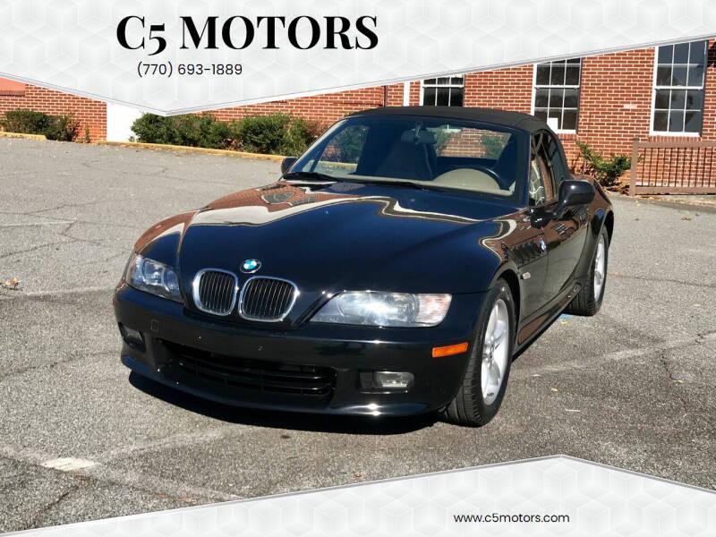 2000 BMW Z3 for sale at C5 Motors in Marietta GA