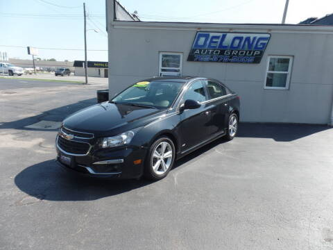 2016 Chevrolet Cruze Limited for sale at DeLong Auto Group in Tipton IN