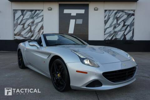 2017 Ferrari California T for sale at Tactical Fleet in Addison TX