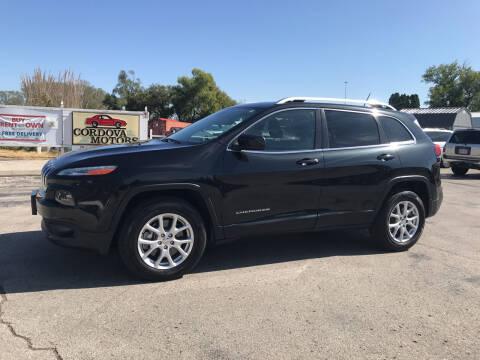 2014 Jeep Cherokee for sale at Cordova Motors in Lawrence KS