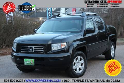 2006 Honda Ridgeline for sale at Auto Sales Express in Whitman MA