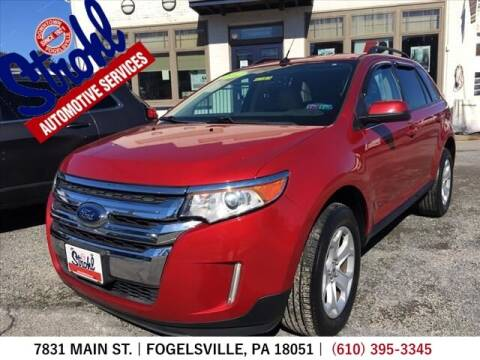 2012 Ford Edge for sale at Strohl Automotive Services in Fogelsville PA