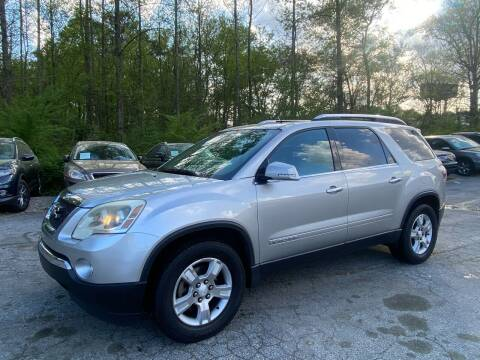 2007 GMC Acadia for sale at Car Online in Roswell GA