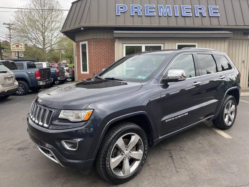 2015 Jeep Grand Cherokee for sale at Premiere Auto Sales in Washington PA