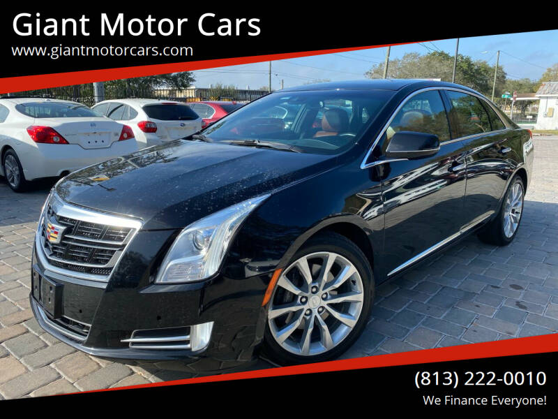 2017 Cadillac XTS for sale at Giant Motor Cars in Tampa FL