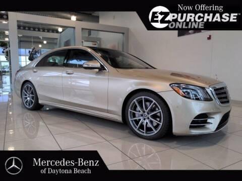 2020 Mercedes-Benz S-Class for sale at Mercedes-Benz of Daytona Beach in Daytona Beach FL