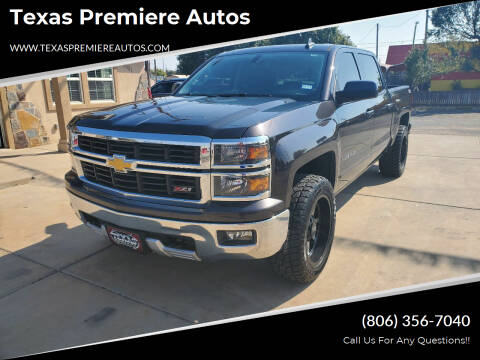 2015 Chevrolet Silverado 1500 for sale at Texas Premiere Autos in Amarillo TX