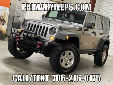 2014 Jeep Wrangler Unlimited for sale at Primary Auto Group in Dawsonville GA
