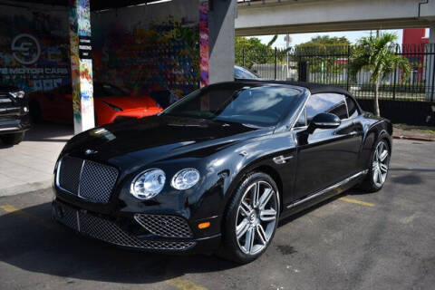 2016 Bentley Continental for sale at ELITE MOTOR CARS OF MIAMI in Miami FL
