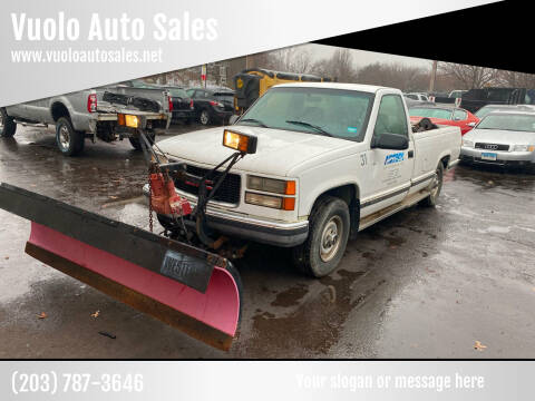 1998 GMC Sierra 1500 for sale at Vuolo Auto Sales in North Haven CT