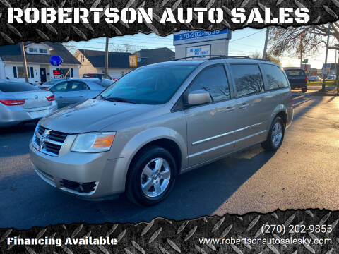 2009 Dodge Grand Caravan for sale at ROBERTSON AUTO SALES in Bowling Green KY