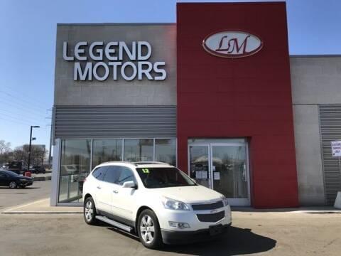 2012 Chevrolet Traverse for sale at Legend Motors of Detroit - Legend Motors of Ferndale in Ferndale MI