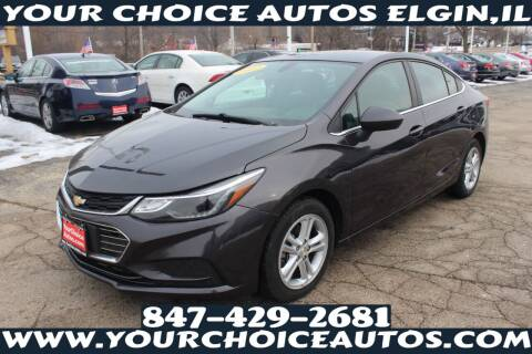 2017 Chevrolet Cruze for sale at Your Choice Autos - Elgin in Elgin IL