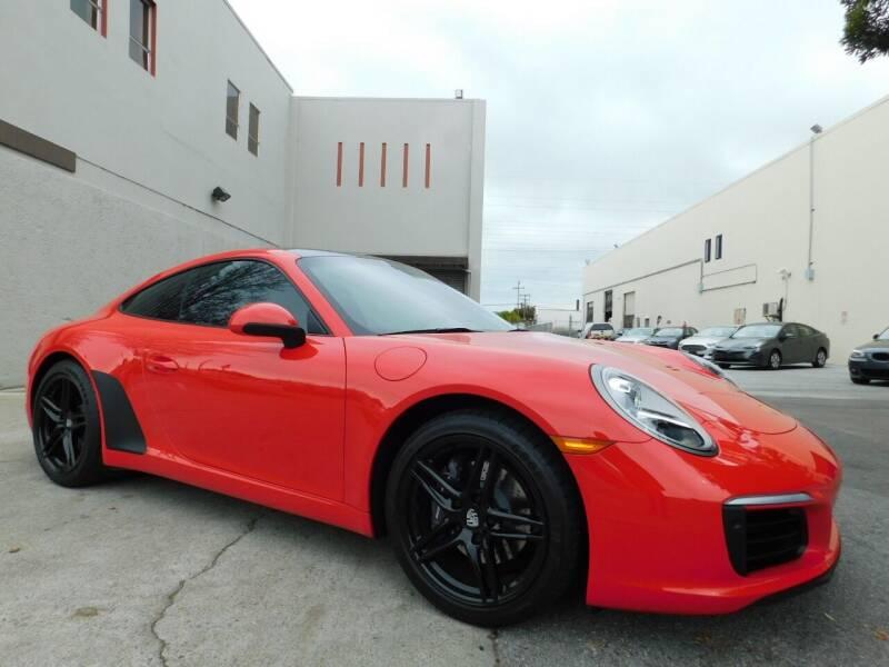 2018 Porsche 911 for sale at Conti Auto Sales Inc in Burlingame CA