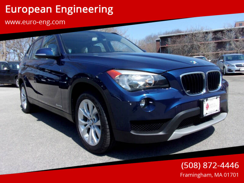 2014 BMW X1 for sale at European Engineering in Framingham MA