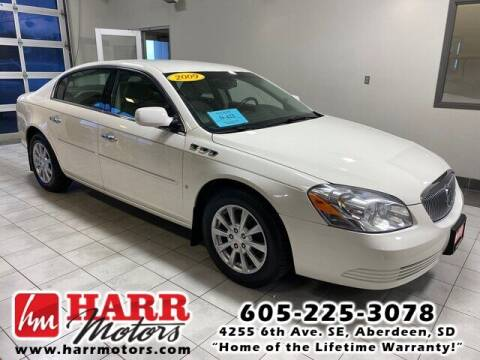 2009 Buick Lucerne for sale at Harr's Redfield Ford in Redfield SD