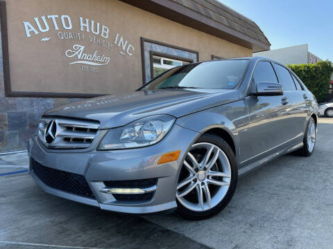 2012 Mercedes-Benz C-Class for sale at Auto Hub, Inc. in Anaheim CA