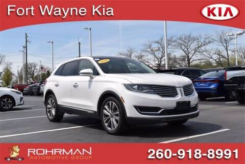 2018 Lincoln MKX for sale at BOB ROHRMAN FORT WAYNE TOYOTA in Fort Wayne IN