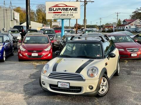 2011 MINI Cooper Clubman for sale at Supreme Auto Sales in Chesapeake VA