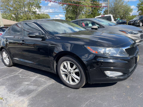 2011 Kia Optima for sale at Auto Exchange in The Plains OH