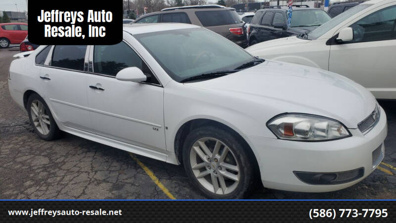 2012 Chevrolet Impala for sale at Jeffreys Auto Resale, Inc in Clinton Township MI