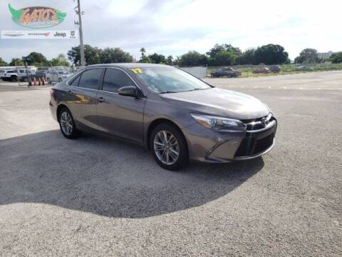 2017 Toyota Camry for sale at GATOR'S IMPORT SUPERSTORE in Melbourne FL
