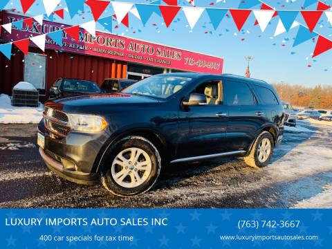 2013 Dodge Durango for sale at LUXURY IMPORTS AUTO SALES INC in North Branch MN