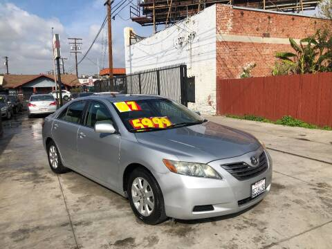 2007 Toyota Camry Hybrid for sale at The Lot Auto Sales in Long Beach CA