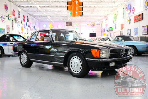 1985 Mercedes-Benz 500-Class for sale at Classics and Beyond Auto Gallery in Wayne MI