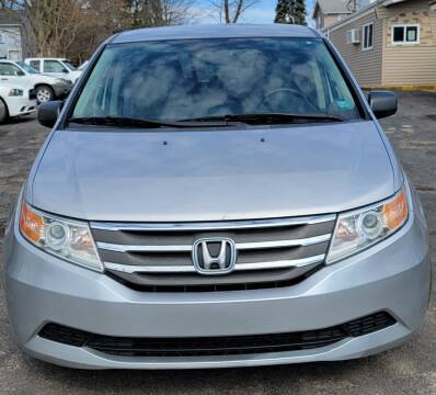 2012 Honda Odyssey for sale at JORDAN AUTO SALES in Youngstown OH