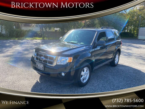 2012 Ford Escape for sale at Bricktown Motors in Brick NJ