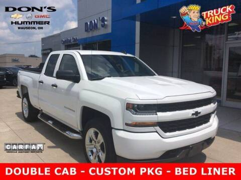 2018 Chevrolet Silverado 1500 for sale at DON'S CHEVY, BUICK-GMC & CADILLAC in Wauseon OH