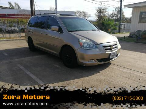 2006 Honda Odyssey for sale at Zora Motors in Houston TX