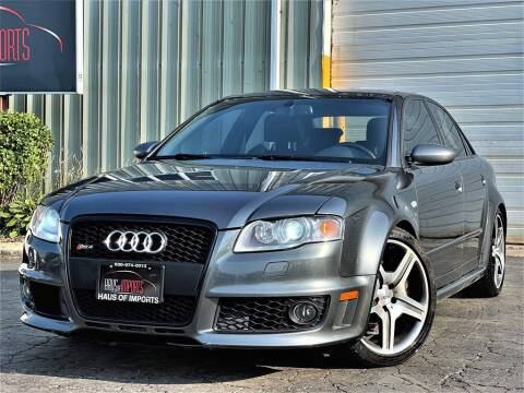 2008 Audi RS 4 for sale at Haus of Imports in Lemont IL