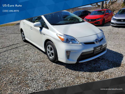 2015 Toyota Prius for sale at US-Euro Auto in Burton OH