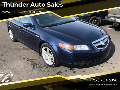 2006 Acura TL for sale at Thunder Auto Sales in Sacramento CA