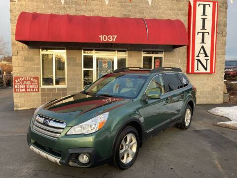 2013 Subaru Outback for sale at Titan Auto Sales LLC in Albany NY