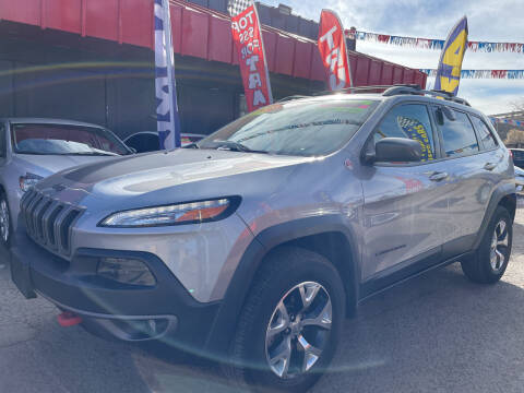 2015 Jeep Cherokee for sale at Duke City Auto LLC in Gallup NM