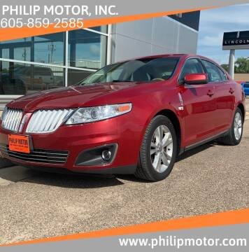 2009 Lincoln MKS for sale at Philip Motor Inc in Philip SD
