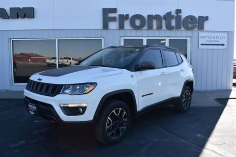 2019 Jeep Compass for sale at Frontier Motors Automotive, Inc. in Winner SD