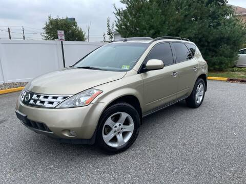 2005 Nissan Murano for sale at Giordano Auto Sales in Hasbrouck Heights NJ