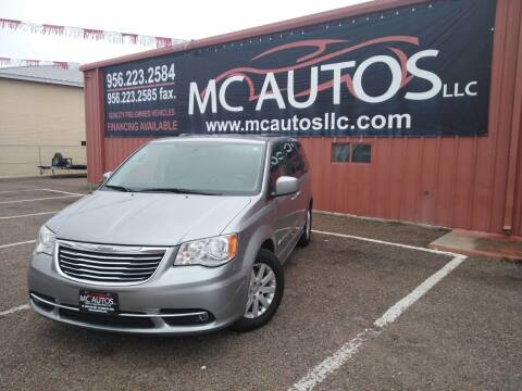 2015 Chrysler Town and Country for sale at MC Autos LLC in Pharr TX