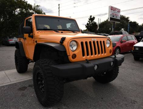 2012 Jeep Wrangler for sale at Grant Car Concepts in Orlando FL