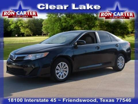 2013 Toyota Camry for sale at Ron Carter  Clear Lake Used Cars in Houston TX
