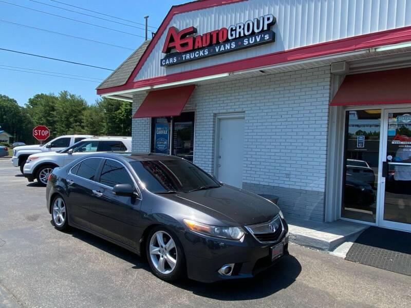 2013 Acura TSX for sale at AG AUTOGROUP in Vineland NJ