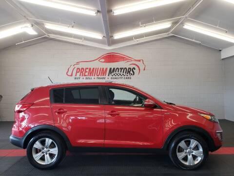2012 Kia Sportage for sale at Premium Motors in Villa Park IL