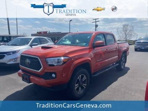 2018 Toyota Tacoma for sale at Tradition Chevrolet Buick in Geneva NY